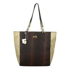 Will You Be Moving Or Touching By The Great And The Best Coach Madison North South Bonded Small Apricot Totes EAZ?