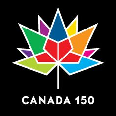 Shop Canada 150 Official Logo - Multicolor and Red Car Air Freshener created by Personalize it with photos & text or purchase as is! Canada 150 Logo, Canada Day 150, Canada Eh, Canada Birthday, I Am Canadian, Car Air Freshener, True North, Symbols, Quilts