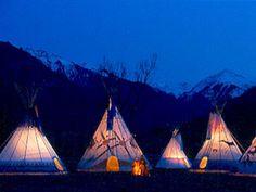 Earthworks Tipi :: Colorado Yurt Company