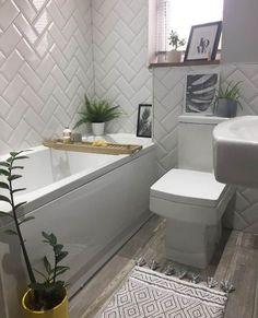 Small Bathroom Floor Plans, Small Bathroom Paint, Condo Bathroom, Bathroom Design Small, Bathroom Interior Design, Bathroom Ideas White, Very Small Bathroom, Budget Bathroom, Bad Inspiration
