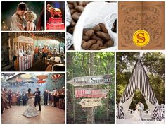 royal wedding magazine: {Inspired by} Water for Elephants: Circus Themed Wedding Inspiration