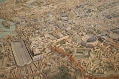 Ancient Rome scale model