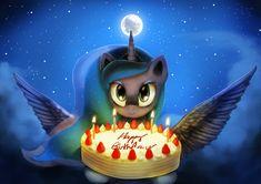 Luna's Birthday Gift by AnticularPony