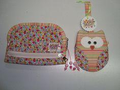 conjunto carteira e porta niquel que fiz para a minha amiga Priscila