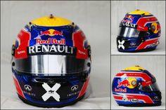 Webber (interlagos 2013) - last helmet