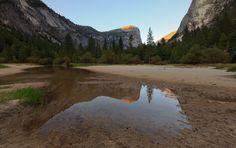 Photograph Vanishing Mirror  Lake, Yosemiteby Edwin Martinez on 500px