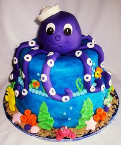 under the sea cake without the little hat and maybe a pink ribbon bow where the hat was & it'd be perfect!
