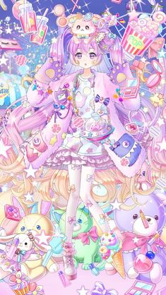 Anime W, Cute Anime Chibi, Chica Anime Manga, Kawaii Anime Girl, Cute Kawaii Drawings, Anime Girl Drawings, Anime Angel Girl, Anime Art Girl, Pretty Anime Girl