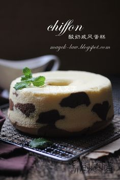 厨苑食谱: 酸奶戚风蛋糕 (Yogurt Chiffon Cake)