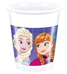 Frozen Snowflakes - Plastic Cups