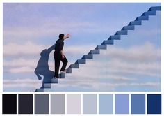 Cinema Palettes: Color palettes from famous movies - The Truman Show