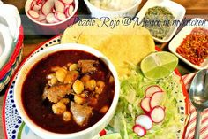 Mexico in my Kitchen: How to Make Red Pozole / Cómo Hacer Pozole Rojo|Authentic Mexican Food Recipes Traditional Blog