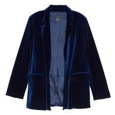 7343b52f83f4b Plus Size Women s Persona By Marina Rinaldi Caraibi Velvet Blazer ( 290) ❤  liked on. Velvet BlazerVelvet JacketPlus ...