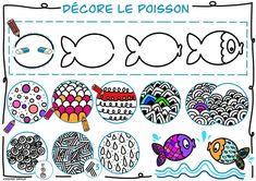 mes cartes mentales - dessin poisson d'avril April Fools, The Fool, Decor, Mental Map, Pisces, Cards, Decoration, April Fools Pranks, April Fools Day