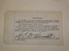1935-1937 The Colorado and Southern Railway Company Train Ticket, Transportation Ticket, Train Colle