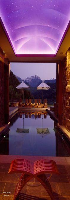 Million Dollar Interiors-  Indoor Luxury Pool | LadyLuxuryDesigns
