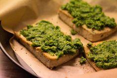 Tofu mit Kräuterkruste