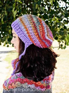 Waves of Warmth Slouch by Pattern-Paradise.com