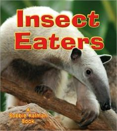 Book~ Science, Nonfiction, explains what animals eat insects