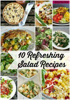 10 Refreshing Salad Recipes!