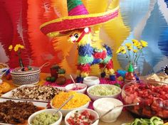 First Birthday Fiesta party piñata and taco bar » Emily McCall