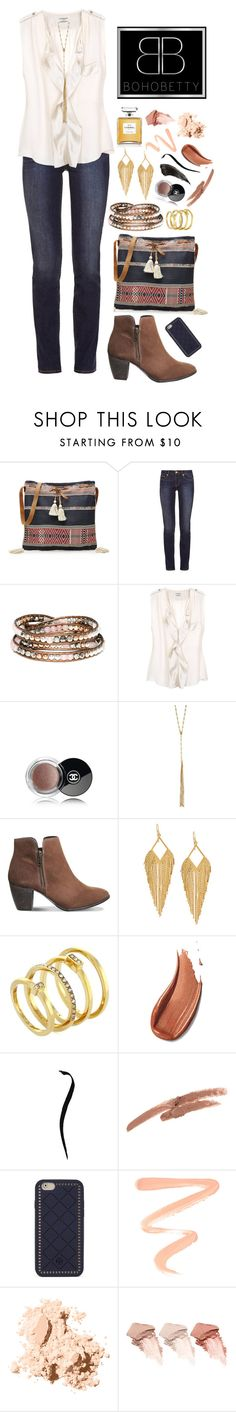 """""""Boho Betty ~ 7"""" by style-and-chic-boutique ❤ liked on Polyvore featuring Star Mela, Tory Burch, By Malene Birger, Chanel, Isabel Marant, Office, Panacea, Vince Camuto, NYX and Burberry"""