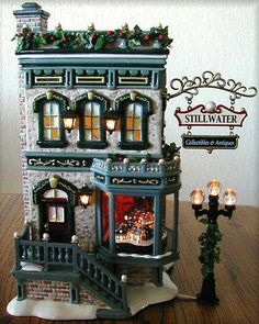 Stillwater Collectibles & Antiques -UTube NEW Department Dept. 56 SV D56