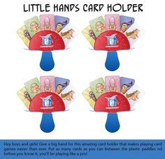 Little Hands Card Holders