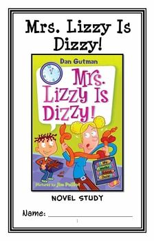 My Weird School Daze: Mrs. Lizzy Is Dizzy! (Gutman) Novel Study / Comprehension * Follows Common Core Standards *  This 27-page booklet-style Novel Study is designed to follow students throughout the entire book.  The questions are based on reading comprehension, strategies and skills. The novel study is designed to be enjoyable and keep the students engaged.
