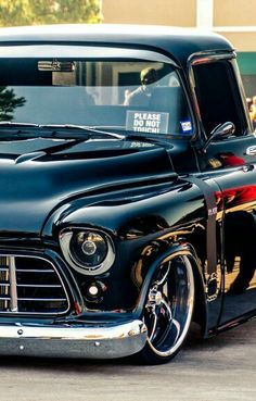 Chevrolet Chevy 1956..Sweet truck...Re-Pin brought to you by #CarInsurance agents at #HouseofInsurance Eugene
