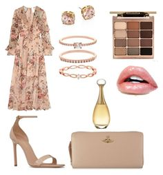"""""""Untitled #21"""" by clilydesign on Polyvore featuring Vivienne Westwood, Yves Saint Laurent, Zimmermann, Accessorize, Stila, Christian Dior and Tory Burch"""
