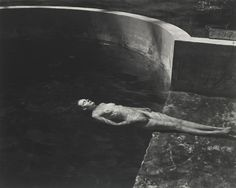 Edward Weston (1886-1958)/Cole Weston (1919-2003) 'NUDE FLOATING' (CHARIS IN THE POOL)