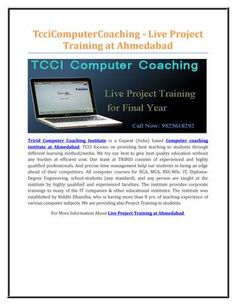Tccicomputercoaching live project training at ahmedabd