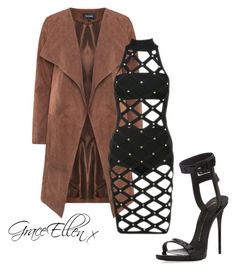 Untitled #20 by miss-grace-ellen on Polyvore featuring polyvore fashion style Giuseppe Zanotti clothing