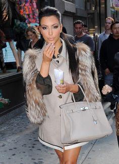 kim kardashian fur - Google Search