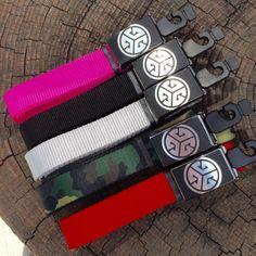 Grubwear TRI-G CAM Buckle with Web Belt