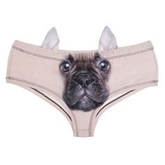 2017 New 3D Printed Animal French Bulldog Hipsters Panty Sexy Women's Panties With Ear lingerie crotchless panties-in Briefs from Women's Clothing & Accessories on Aliexpress.com | Alibaba Group