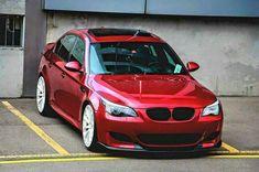 BMW E60 M5 red