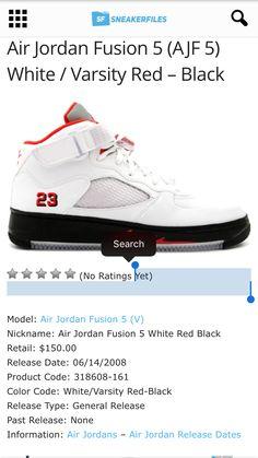 check out af464 2c454 Air Jordan Fusion 5
