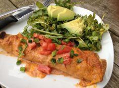 Enchiladas Costeñas - Puerto Vallarta Mexican Restaurant - Zmenu, The Most Comprehensive Menu With Photos Mexican Enchiladas, Chicken Enchiladas, Puerto Vallarta, Menu Online, Shredded Chicken, Spicy Recipes, The Best, Tasty, Restaurant