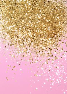 'Gold Pink Glitter 1 ' Poster Print by Anita's & Bella's Art | Displate