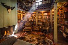 Denton's library. Colorado, America