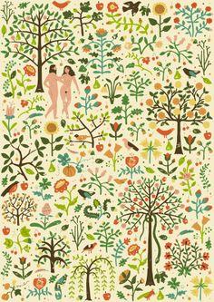 Adam & Eve - harrydrawspictures