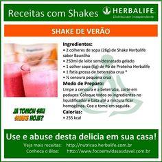 Receita com Shake Herbalife, experimente esta delicia em casa! #herbalife #shake #focoemvidasaudavel ... http://www.focoemvidasaudavel.com.br