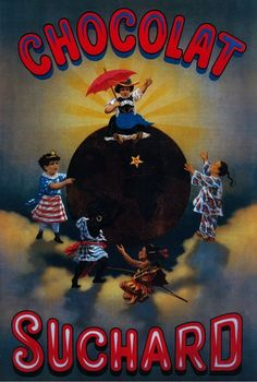 Chocolat Suchard Vintage Poster – Europe