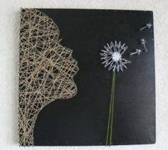 DIY Wall Decor: Heart String Art   Totally Love It