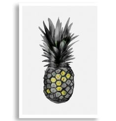 Buy Pineapple Art Print by Morgan Connoley   Limited Edition Prints   Worldwide Delivery Buy Unique Homewares, Unique Gifts and Affordable A...