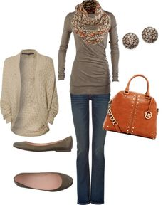 """Fall Look"" by honeybee20 鉂?liked on Polyvore"