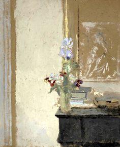 EDOUARD VUILLARD (French, 1868-1940) Iris et pensées