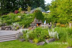 A nature-minded Oregon couple turn an old sheep farm into a veritable Eden for plants, animals, and people